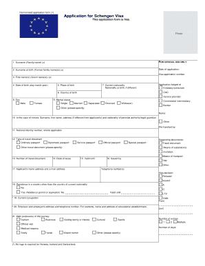 Fillable Online denmark visahq Denmark business visa.