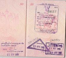 Visa policy of Thailand.