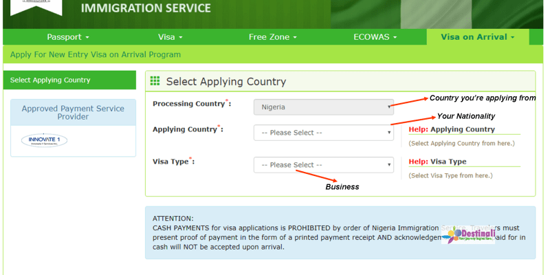 How to Apply for a Nigerian Visa on Arrival Easily.