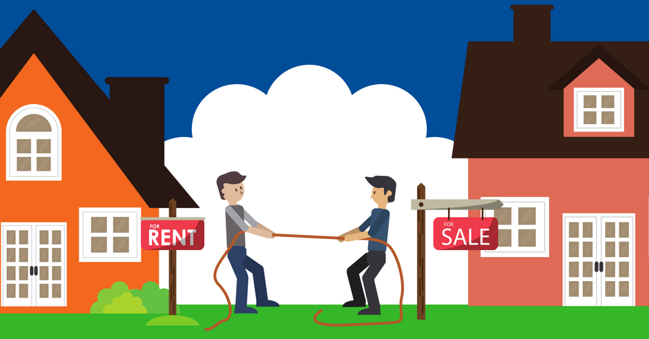 The Great Debate: Should you buy or rent a home?.