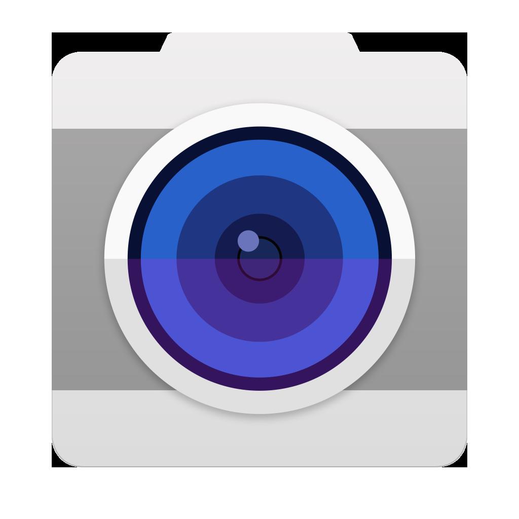 Camera Icon Galaxy S6 PNG Image.