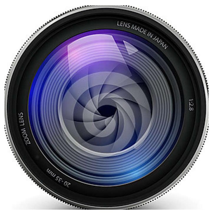Camera Lens PNG Transparent Images.