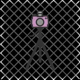 Camera stand Icon.