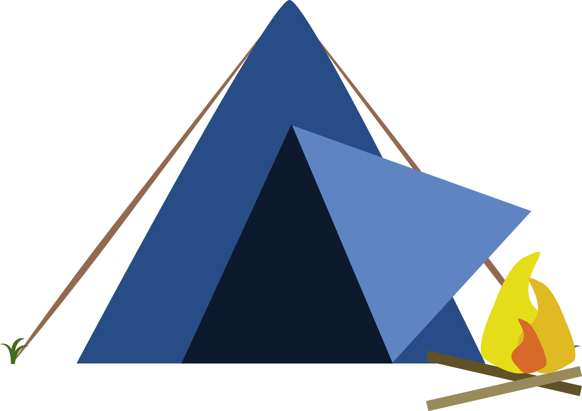 Tent PNG #2625.