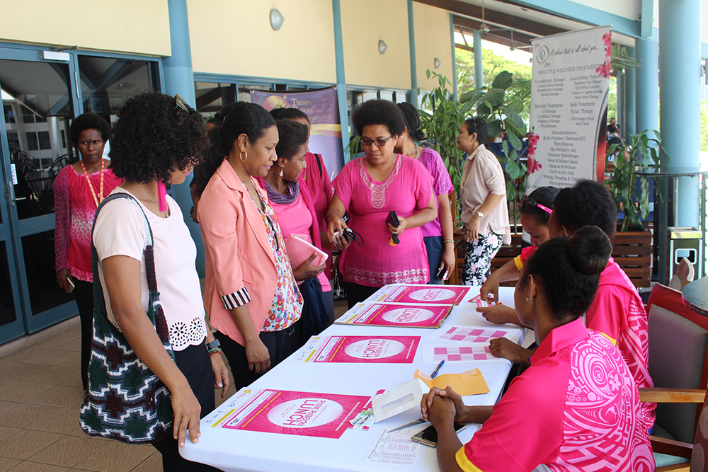 Airswift and PNG Cancer Foundation host Pink Ribbon Lunch.