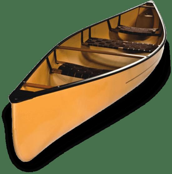 Wooden Canoe transparent PNG.