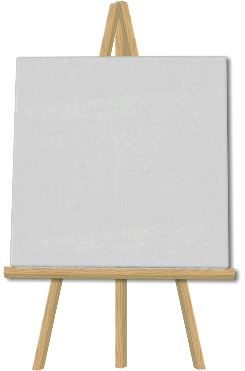 Download Free png A blank canvas.