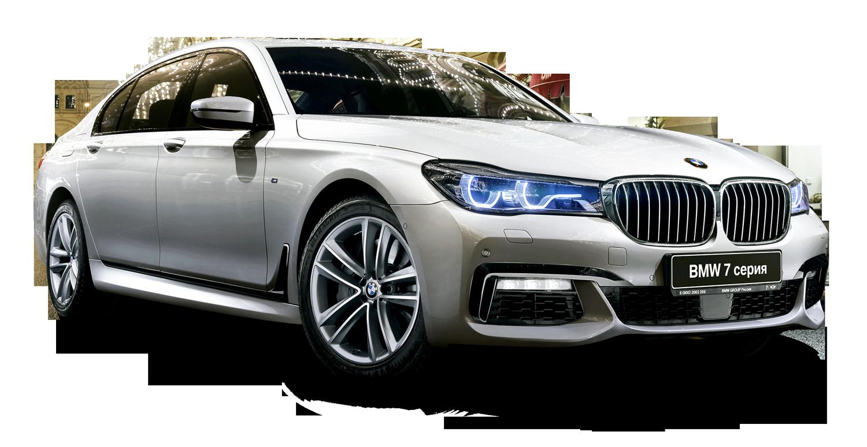 BMW 7 Series Car PNG Image.
