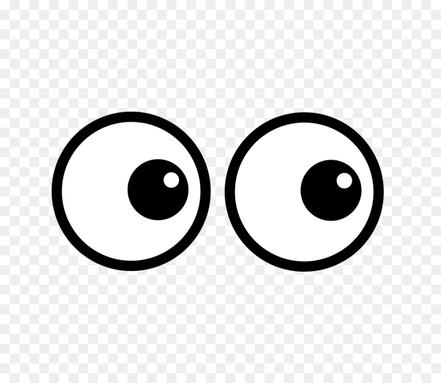 Googly Eyes Background clipart.