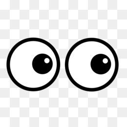 Cartoon Eyes PNG.