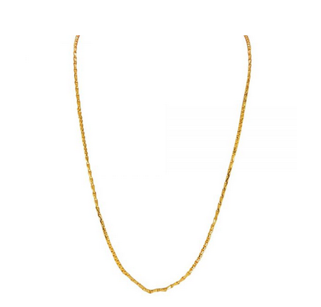 Design Thin 22kt Gold Chain.