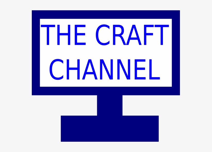 Craft Channel Tv Icon.
