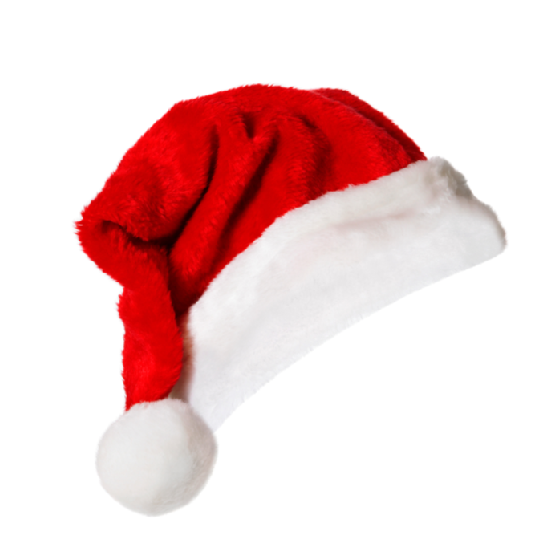 Christmas Hat Transparent PNG Pictures.