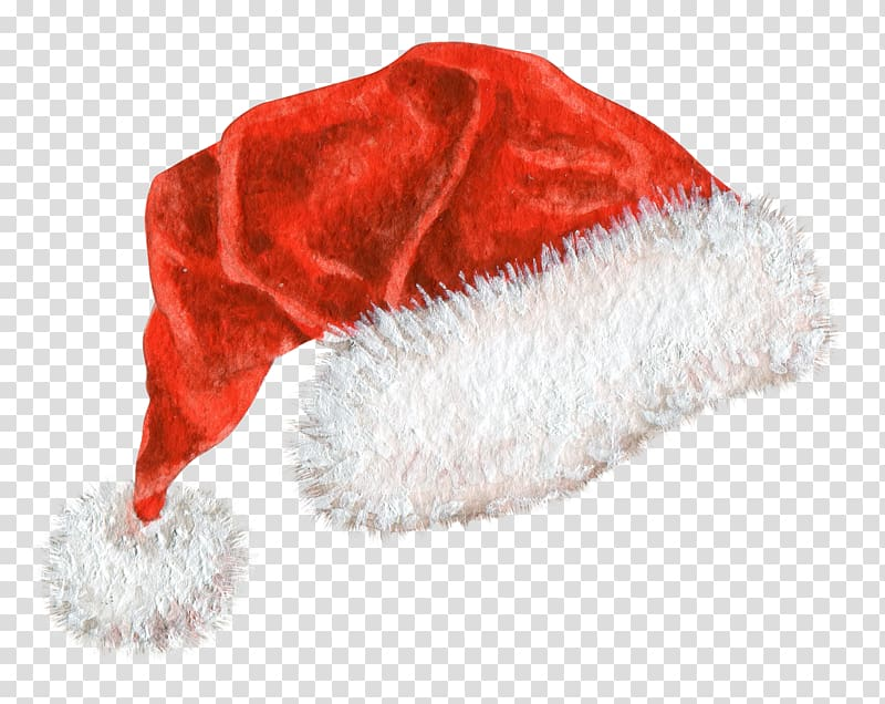 Hat Christmas Red, Christmas hats transparent background PNG.