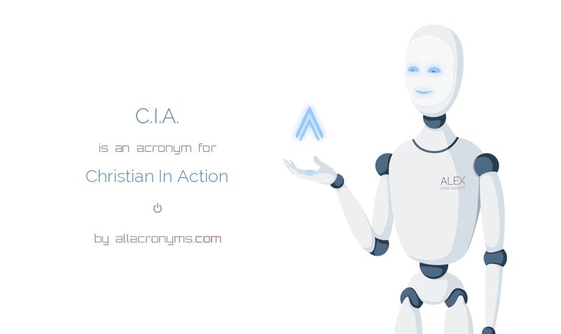 C.I.A..