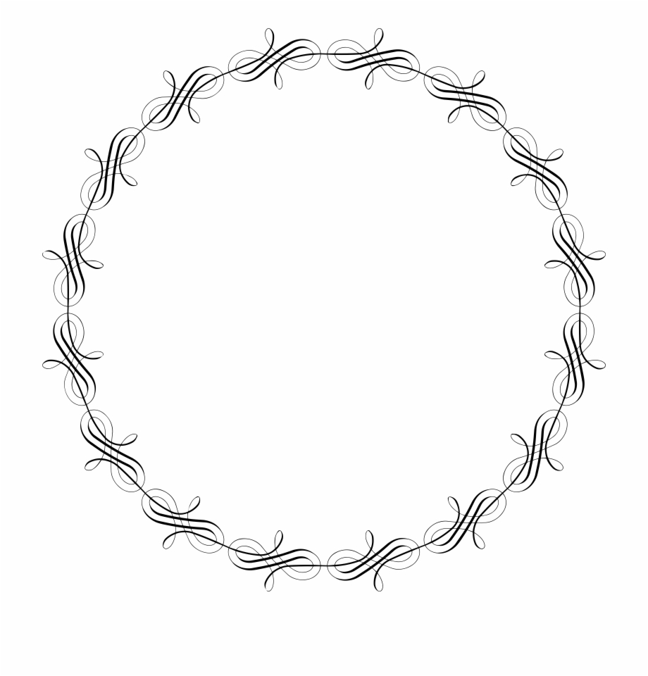 Circular Frame Png.