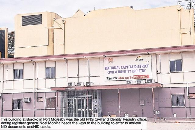 Worries raised over official documents locked in registry.