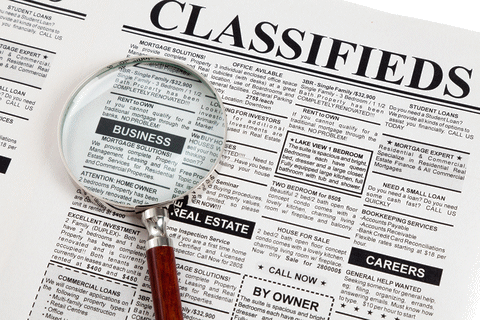 Classified Ads.