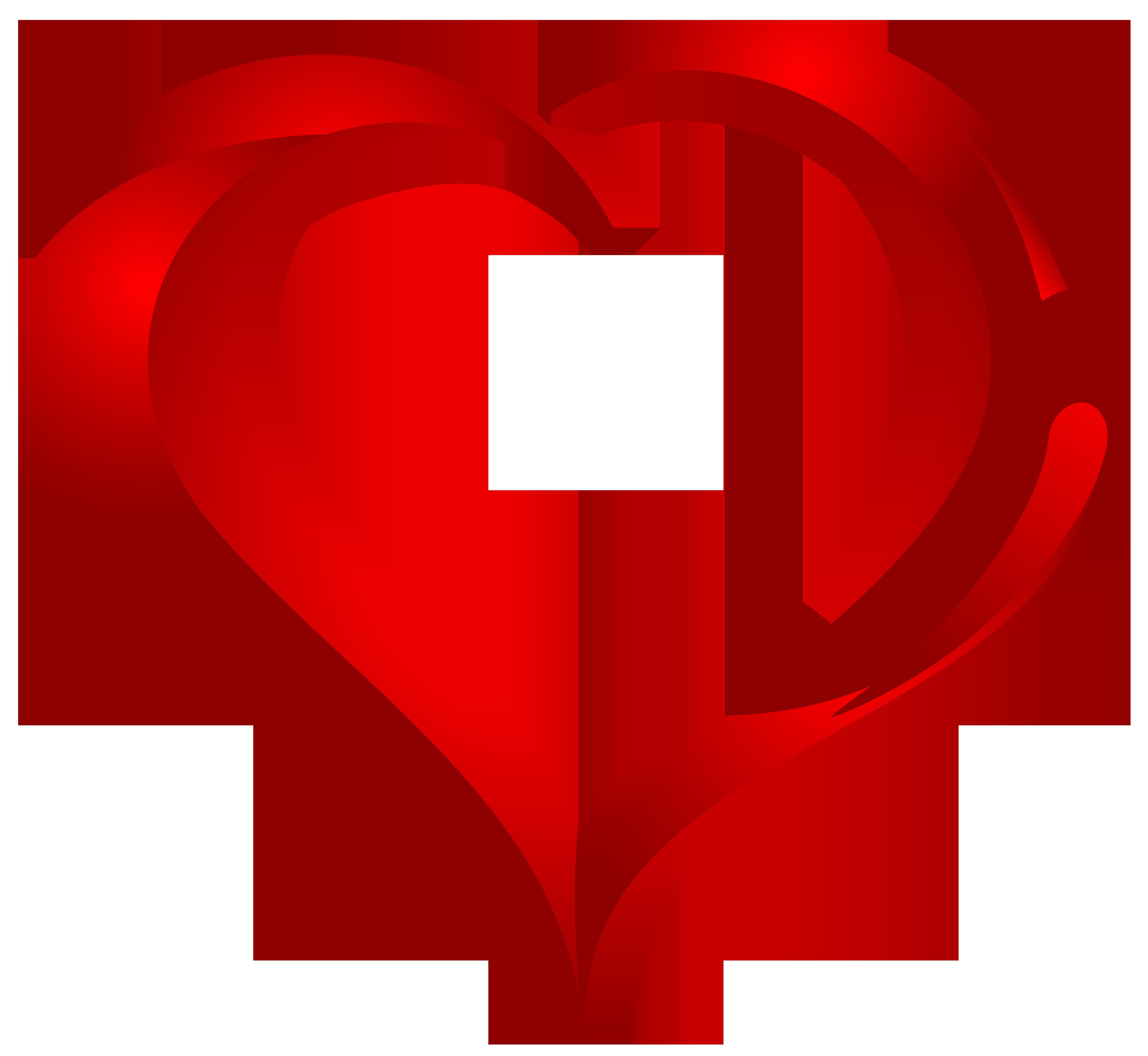 Beautiful Heart PNG Clipart.