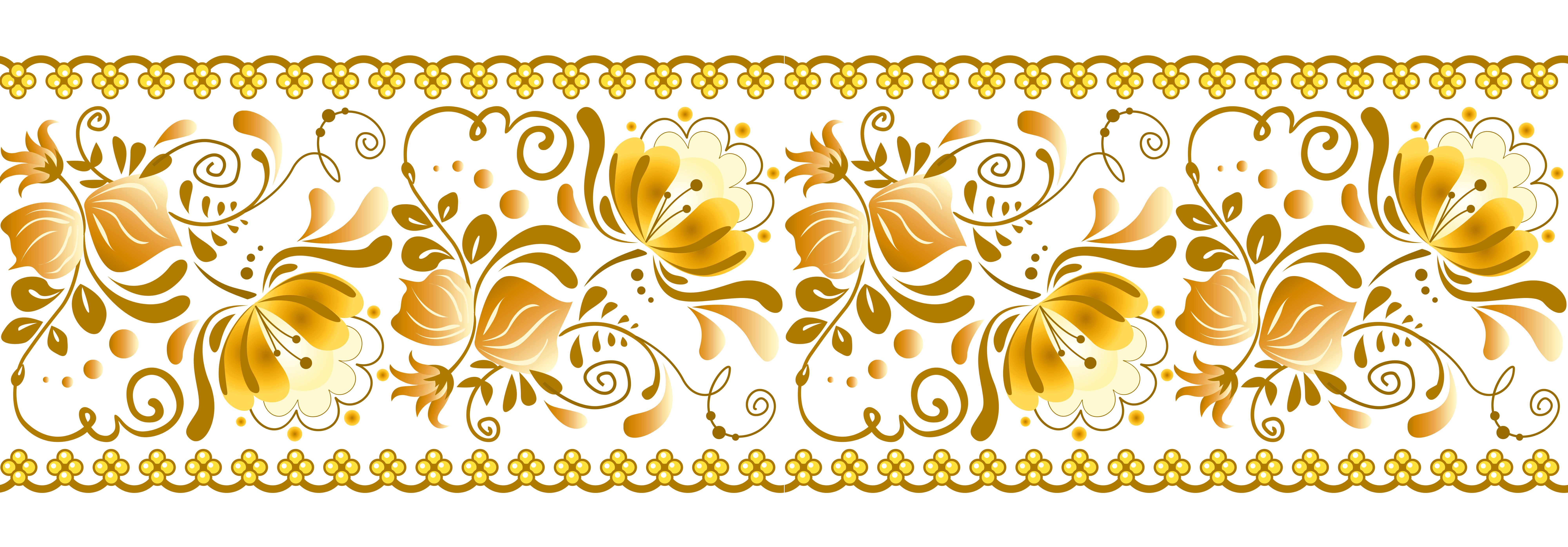 Yellow Decoration PNG Transparent Clipart.