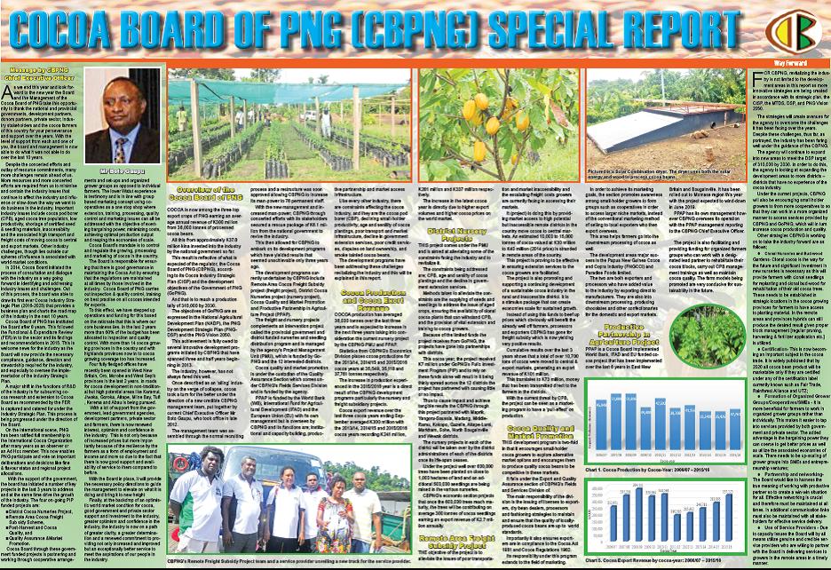 Cocoa Board Special Report \'2017.
