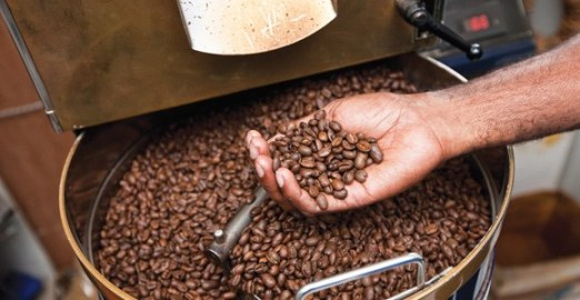 Coffee: a major PNG export.
