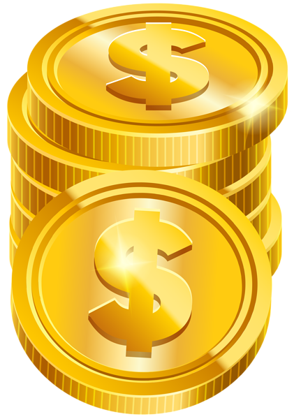 Coins money PNG image, coins PNG pictures download.