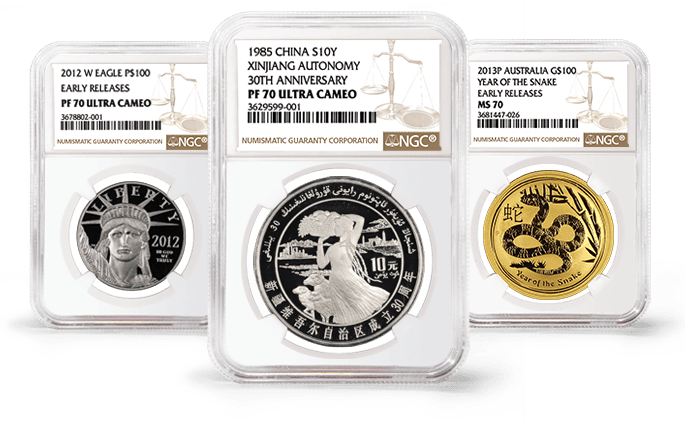 NGC Coin Grading Scale.
