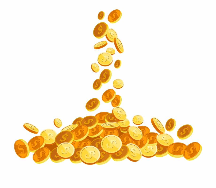 Coin, Download, Money, Orange, Yellow Png Image With.