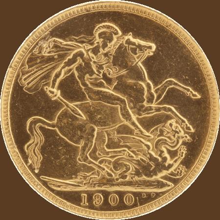 British Half Gold Sovereign Coin.