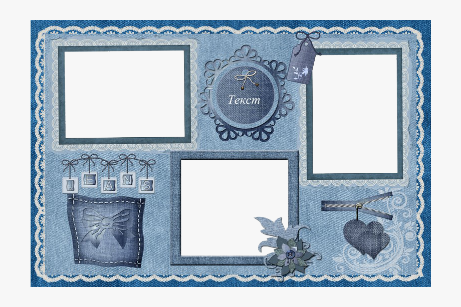 Collage Frame Png Clipart.