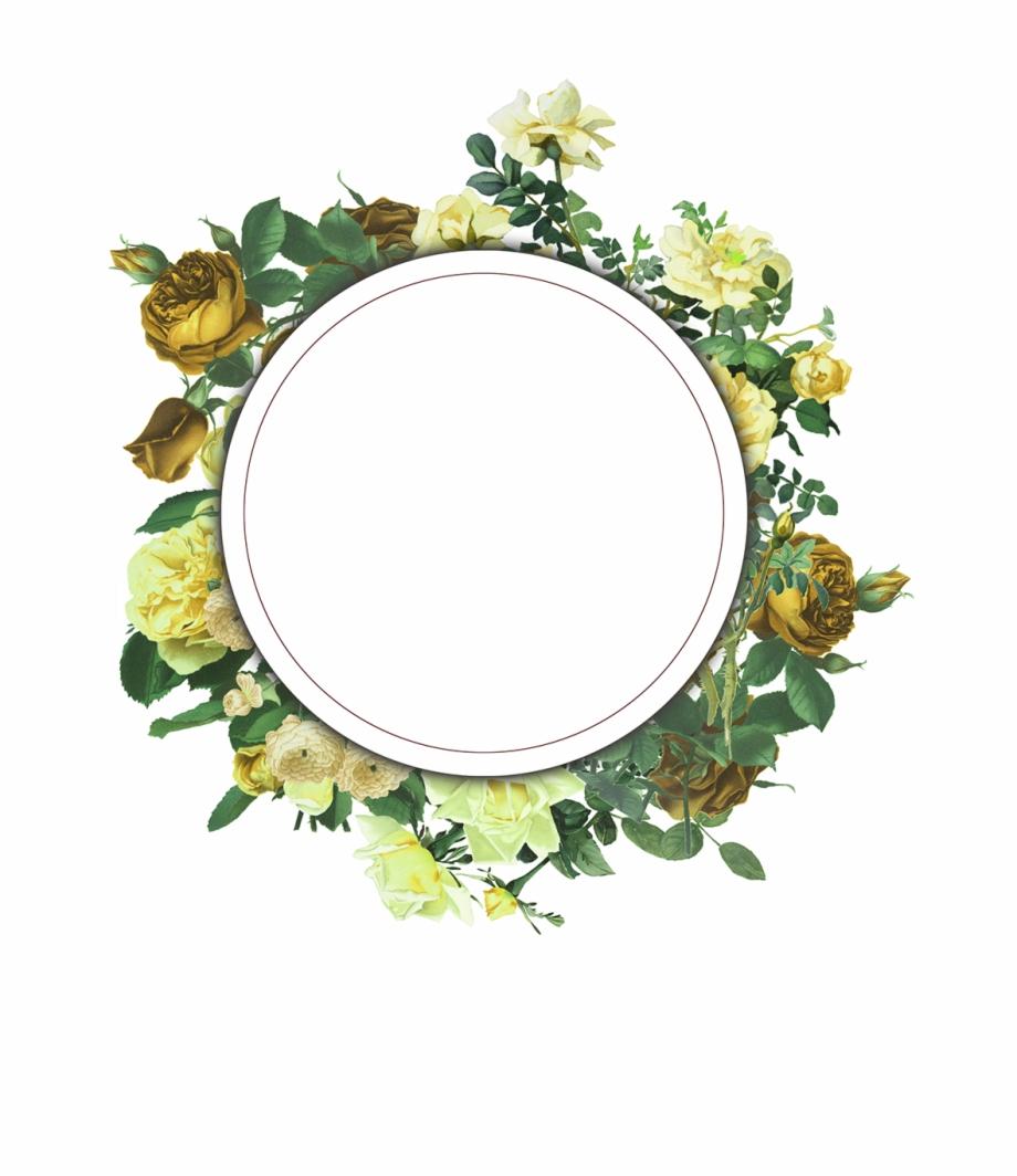 Vintage Floral Frame Collection Free To Download.