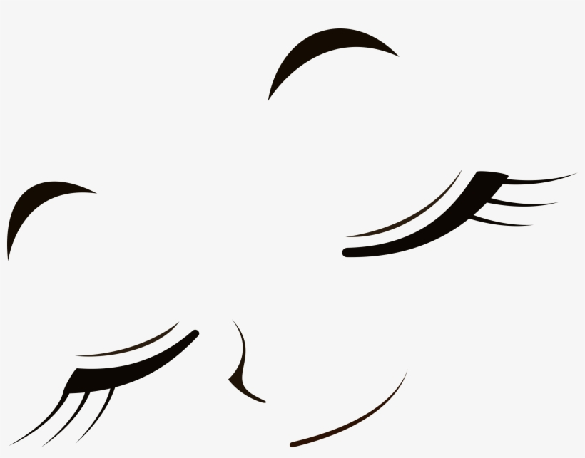 Collection Of Free Smile Vector Closed Eye Download.