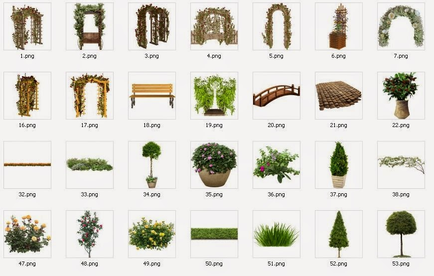 Free Download Trees And Grass PNG File C #231416.