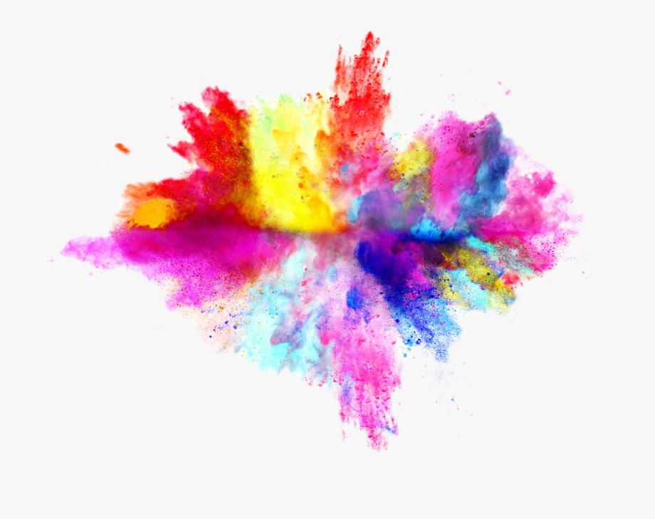 Color Splash Clipart.