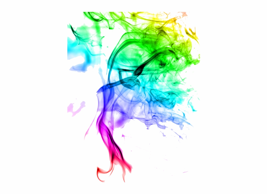 Colour Smoke Effect Png.