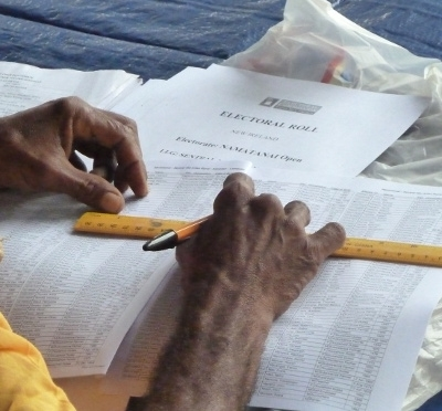 Papua New Guinea Election Chief Takes Responsibility For.