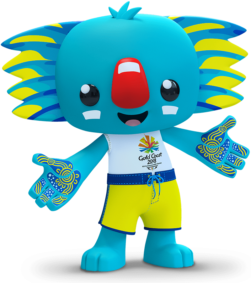 2018 Commonwealth Games Mascot Borobi PNG.