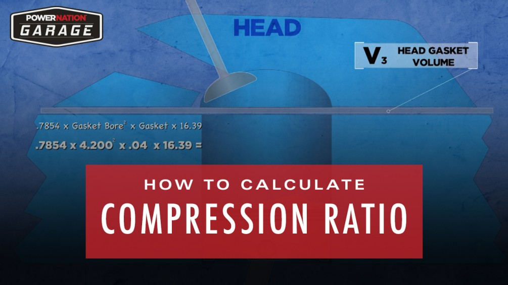 How To Calculate Compression Ratio : PowerNation Garage.