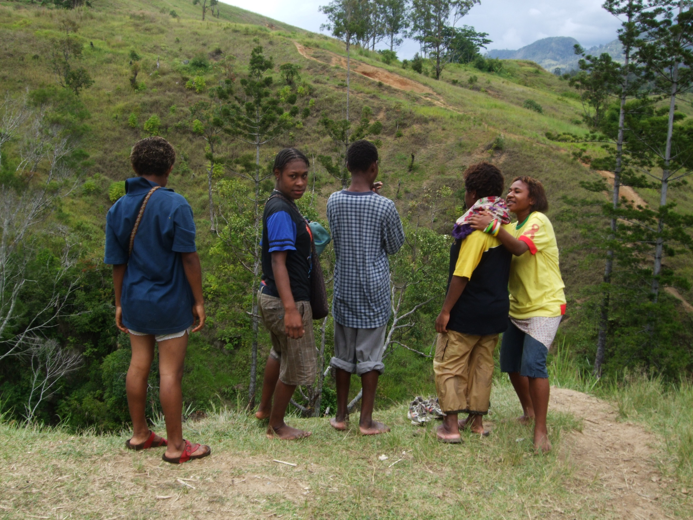 Reflections from Papua New Guinea: Making \'friends\' and the.