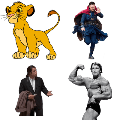 At the Movies transparent PNG images.
