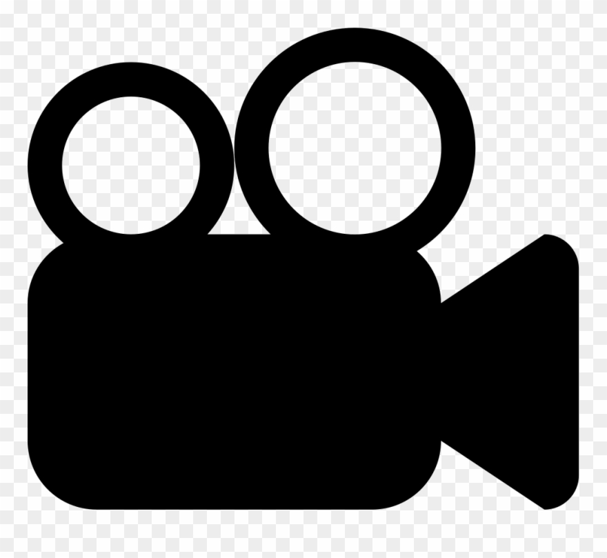 Video Camera Clip Art Png Black And White.