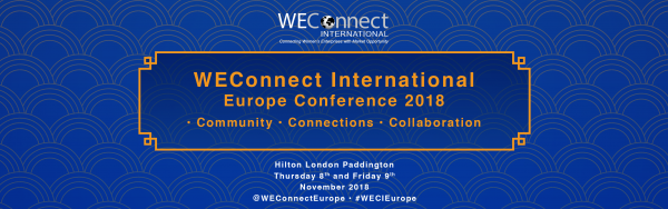 WEConnect International Europe Conference 2018.