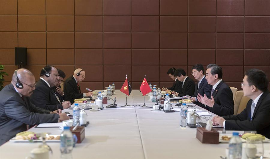 China fully supports PNG hosting 2018 APEC summit: Chinese.