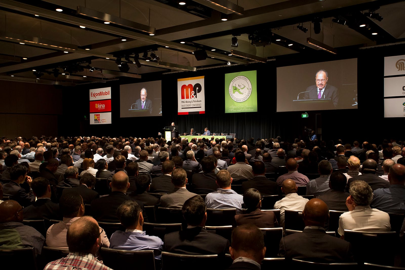 PNG\'s Resources Industry Showcase at Sydney Conference.
