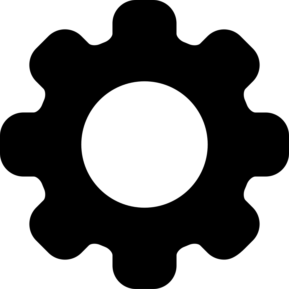 Gear Interface Symbol For Configuration Svg Png Icon Free.