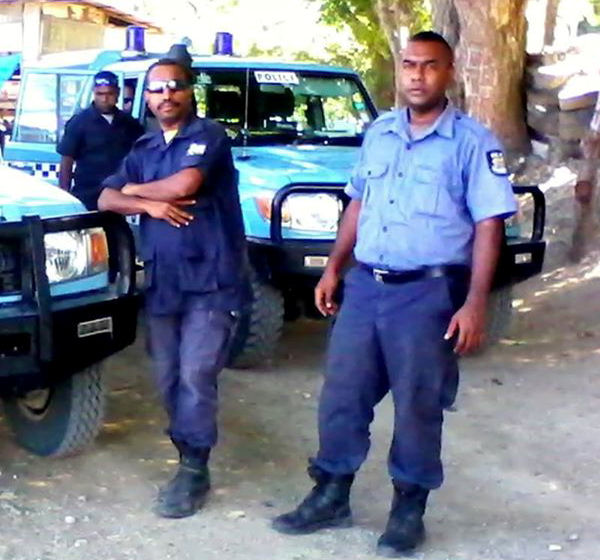 RPNGC (Royal Papua New Guinea Constabulary) page by Trevor.