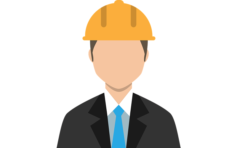 Safety first in commercial construction projects.