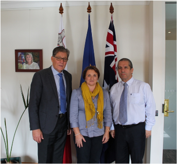 New Honorary Consul for Malta in Brisbane In Canberra for a.