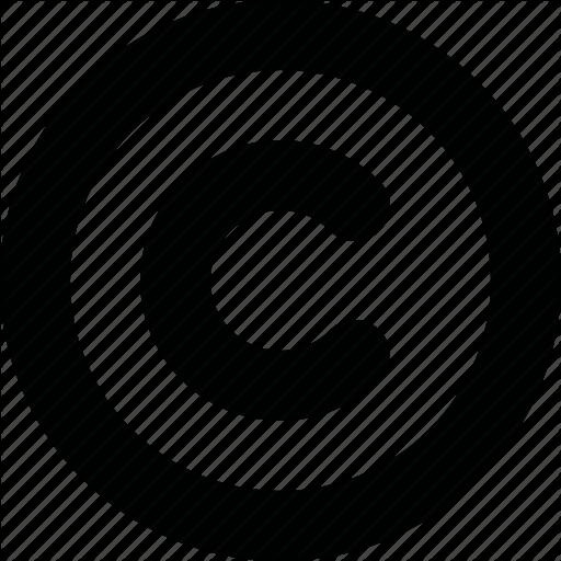 Download Copyright Symbol Free PNG Image.